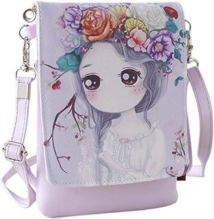 Squarex Shoulder Bags Women's Handbags & Cartoon Handbags Kids Girls Mini Crossbody Bag (Color : E)