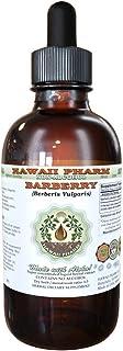 Barberry Alcohol-Free Liquid Extract, Organic Barberry (Berberis Vulgaris) Dried Root Bark Glycerite Hawaii Pharm Natural ...