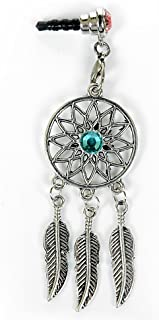Dust Plug - Mavis's Diary Dream Catcher Dust Plug Earphone Jack Accessories/Cell Charms for iPhone 4 4S 5 5S 6 6+/ Ipad/iPod Touch/Samsung Galaxy/Samsung Note/HTC 3.5mm Ear Jack - B Style
