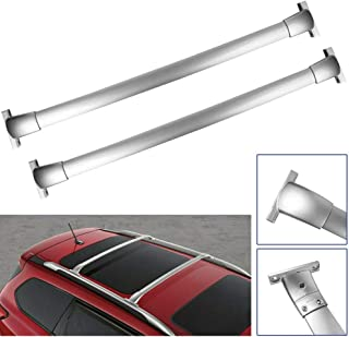 MOSTPLUS Roof Rack Luggage/Cargo Cross Bar Rail Top Aluminum Locking Crossbars for 2013-2018 Nissan Pathfinder