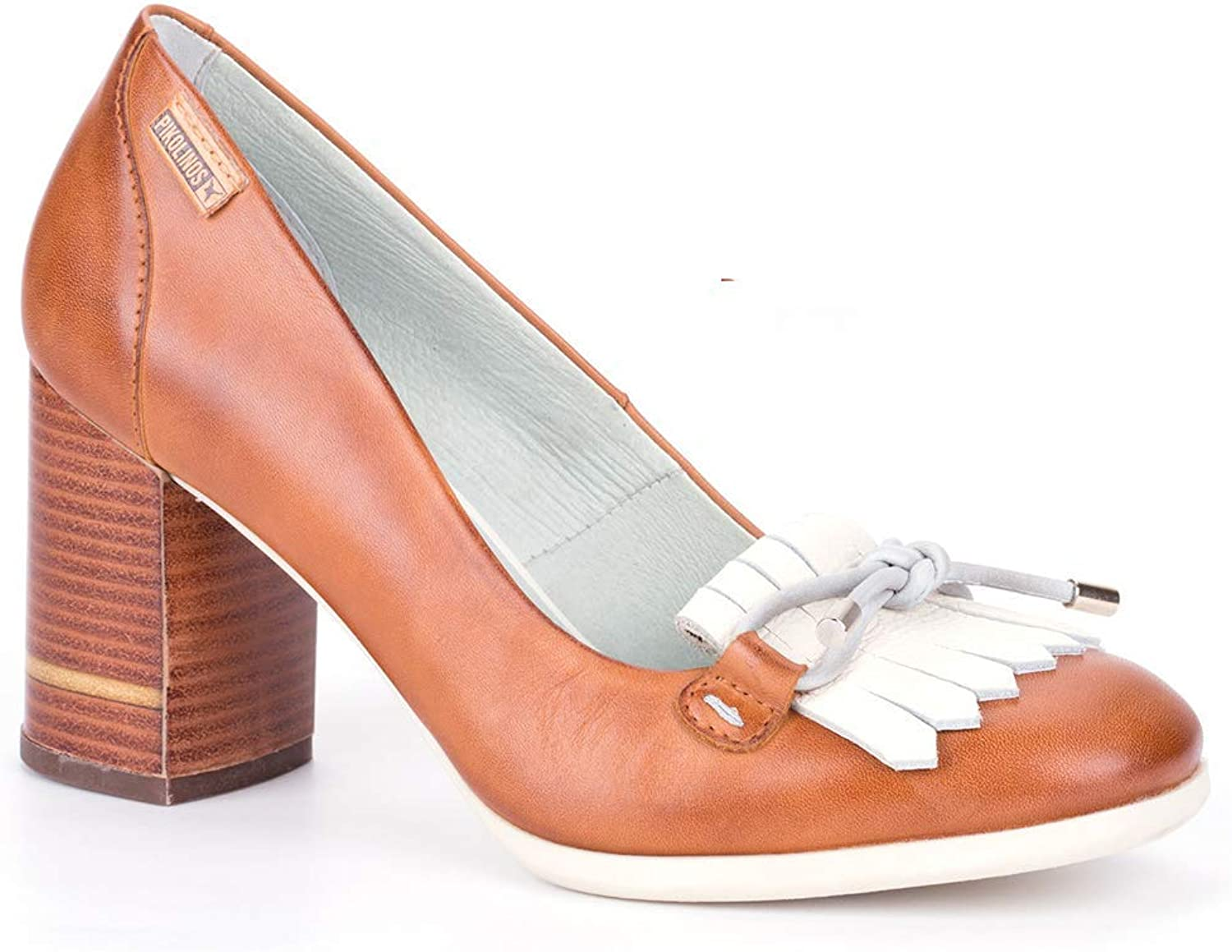 Pikolinos Women shoes w2n-5798 Pumps Brandy NATA Leather Women's shoes high Heel 8cm