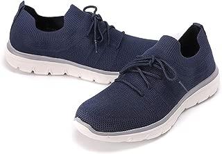 BEATIFIC BEE Men Sneakers Lightweight Flyknit Breathable Sports Shoes Men's Walking Shoes