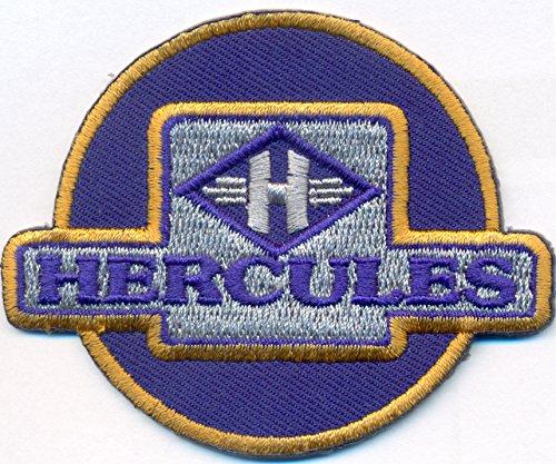 Hercules Vintage Motorcycle Biker Motorrad Aufnäher Patch Abzeichen