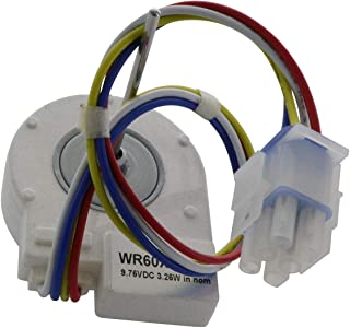 Endurance Pro WR60X10185 DC Refrigerator Evaporator Fan Motor Compatible with GE PS1019114 AP3875639, Hotpoint, RCA, Garp