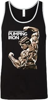 Arnold Schwarzenegger Pumping Iron Men's Workout Gym Tank Top T Shirts