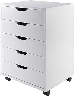 Winsome 10519 / Halifax Storage / Organisation ، 5 کشو ، سفید