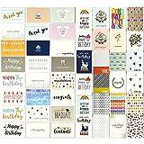 Grußkartenfür alle Gelegenheiten von Best Paper Greetings (48 Stück) –Englische Texte, z....