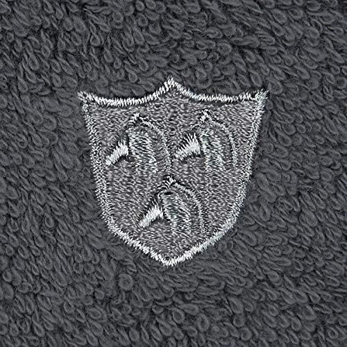 Ross Uni-Walk Handtücher Vita Graphit, Duschtuch 70x140 cm