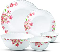 Laopala Dinnerware Set 38 Pcs, aster pink
