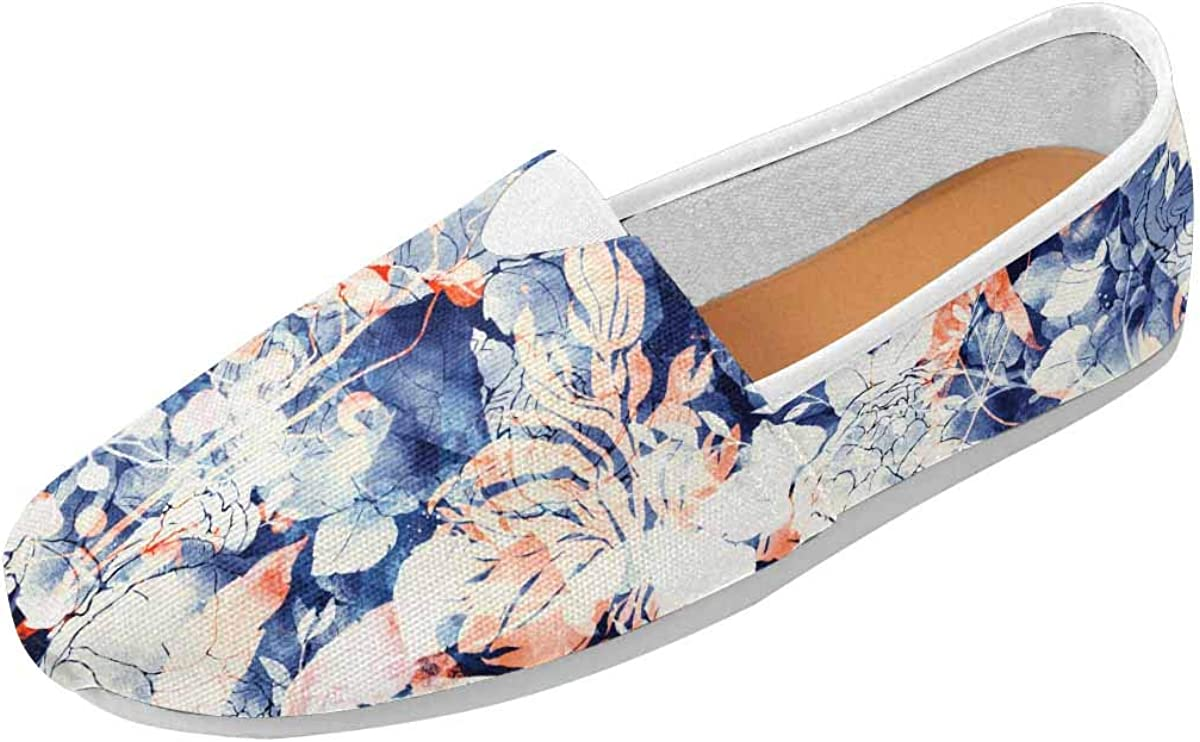 INTERESTPRINT Nature's Magic Women's Casual Slip On Loafers Office