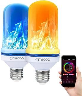 CPPSLEE Led Flame Effect Light Bulb