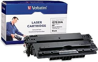 Verbatim Remanufactured Toner Cartridge Replacement for HP Q7516A (Black)