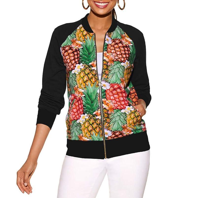 Hemlock Women Pineapple Print Cardigan Short Outerwear Coat Slim Fitted Jackets Sweater Cloak Coats bg492469400
