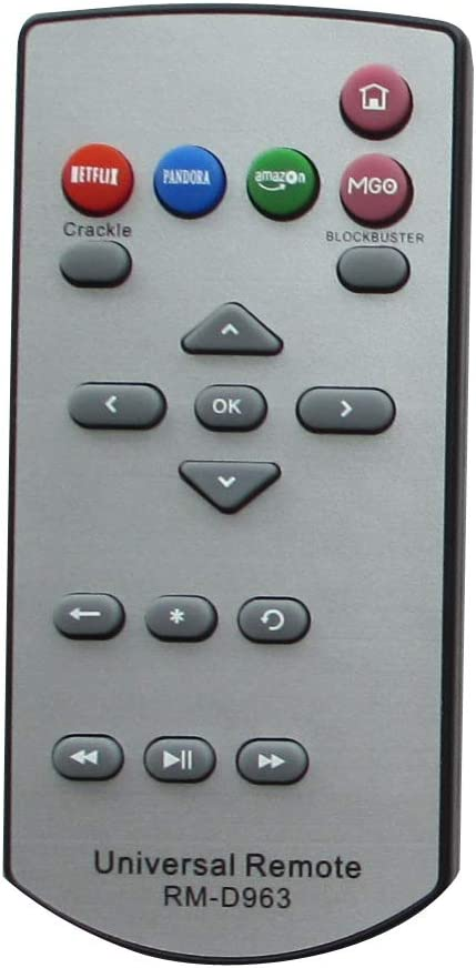 Universal Replacement Remote Control Fit for Roku LT HD XD 2400R 2500R Streaming Digital Media Player TV