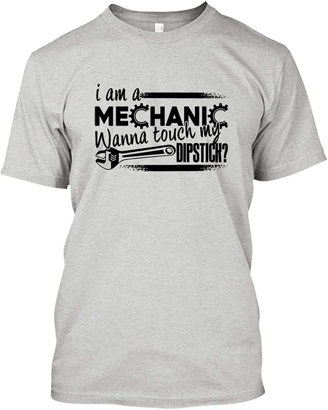 Atomic garage T-Shirt usa custom engine pinup mechanic T-Shirt Mens Long Sleeve
