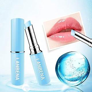Lucoss Ialuronico Acido Balsamo per labbra Lip Plumper Idratante Potente Idratante Alleviare secchezza Lunga durata Protez...