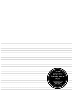 Best half blank half lined paper Reviews