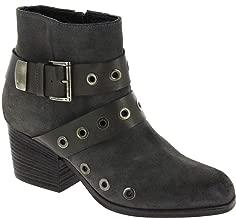Vic Matié Women's Leather Nubuck Ankle Boots - Booties Shoes