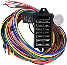 labwork New 14 Circuit Fuse Universal Wire Harness Muscle Car Hot Rod Street Rat XL