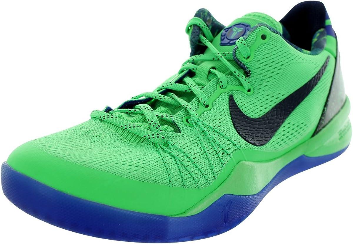 Amazon.com   Nike Mens Kobe 8 System Elite Poison Green/Blcknd Bl ...