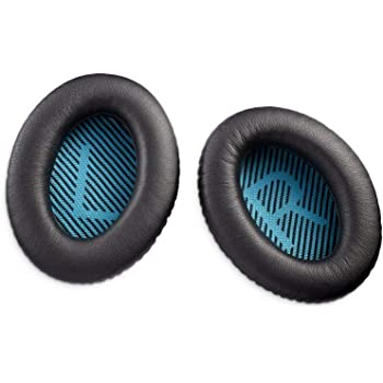 Bingle Ear Cushions Replacement Ear Pads for Bose Headphones Quiet Comfort 35 QC35 II and QuietComfort 35 II QC35 Headphones with Memory Foam Protein Leather 1Pair Printing