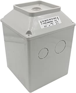 Baomain Master Switch Exterior Box LW28-63/4 Work for Universal Rotary Changeover Cam Switch SZW26-63 660V 63A 3 Position 3 Phase
