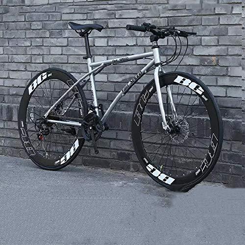 XSLY Enfriar gris-negro de los hombres de bicicletas, 24 velocidad de 26...