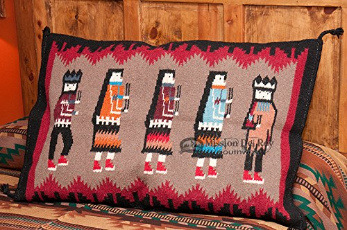 Best Bargain Mission Del Rey Large Southwest Pillow Cover 24x36 -Yei Dancers