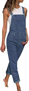 New Women Overalls Cool Denim Jumpsuit Ripped Holes Jeans Sleeveless Jumpsuits Slim Rompers #H