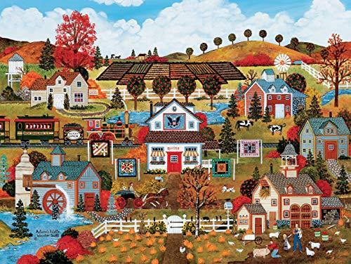 Jane Wooster Scott - Autumn's Palette Puzzle - 550 Pieces