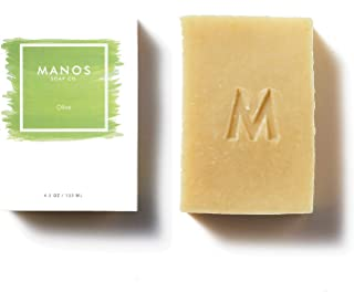Sponsored Ad - Manos Soap Co. Olive Soap Bar with Olive Oil - Fragrance Free - For Body Wash, Hand Soap, Skin Care - All N...