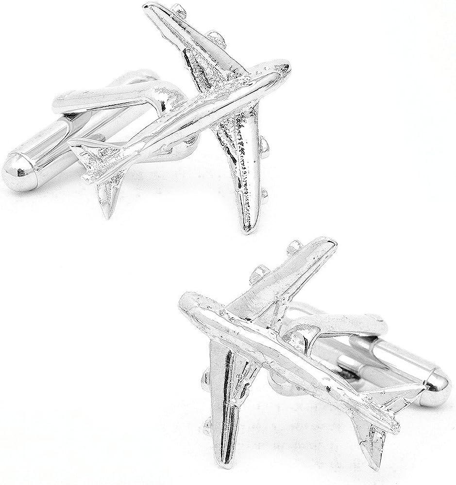 Cufflinks Inc Jumbo Jet Cufflinks (CC-JET-SL)