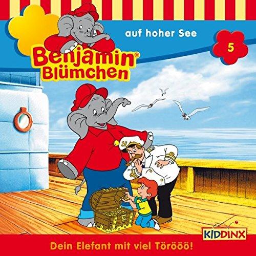 Benjamin auf hoher See audiobook cover art