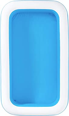 H2OGo H2O GO 54150E Rectangular Inflatable Set, 10ft x 18in | Above Ground Pool, Blue