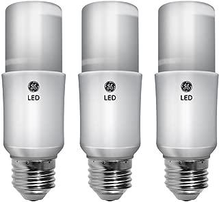 GE Lighting 63553 LED Brightstik 5.5-watt (40-watt Replacement), 450-Lumen Light Bulb with Medium Base, Daylight, 3-Pack