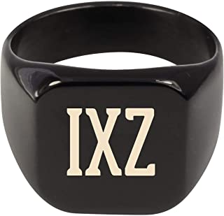 Molandra Products IXZ - Adult Initials Stainless Steel Ring