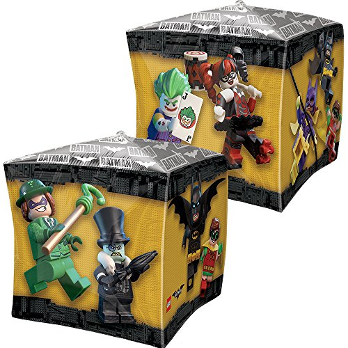 Amscan International 3587001 DC Comics Cbz Lego Batman - Globo de Papel de Aluminio