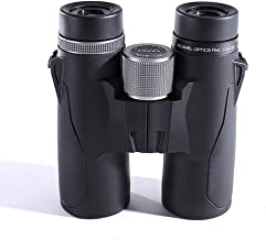 Professional Waterproof Binoculars for Adults HD High Power Telescope for Birdwatching Hunting Sport Large Objective BAK4 Prism FMC Lens with Carrying Bag