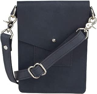 Ballard Mini Crossbody Bag, Full-grain Leather (Indigo)
