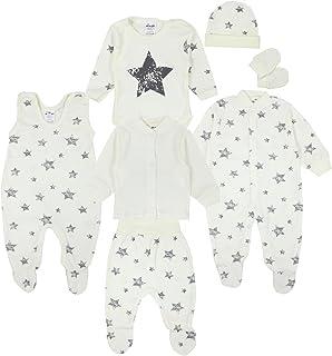 b82c67fd1a14db TupTam Baby Bekleidungsset Erstausstattung Sterne 7 teilig