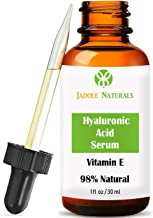 Jadole Naturals Hyaluronic Acid Serum For Face Wit Vitamin E 30 ml, Pack of 1