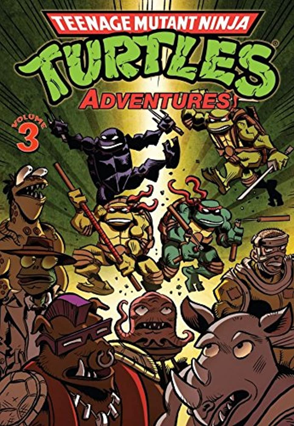 興味肖像画超えるTeenage Mutant Ninja Turtles Adventures Vol. 3 (English Edition)