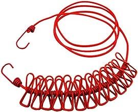 Doble Cuerda Tendedero Retr/áctil 30 m Cuerda Retractable para Tender Para el Interior y al Aire Libre 2 x15m by NORBERTBERKELEY