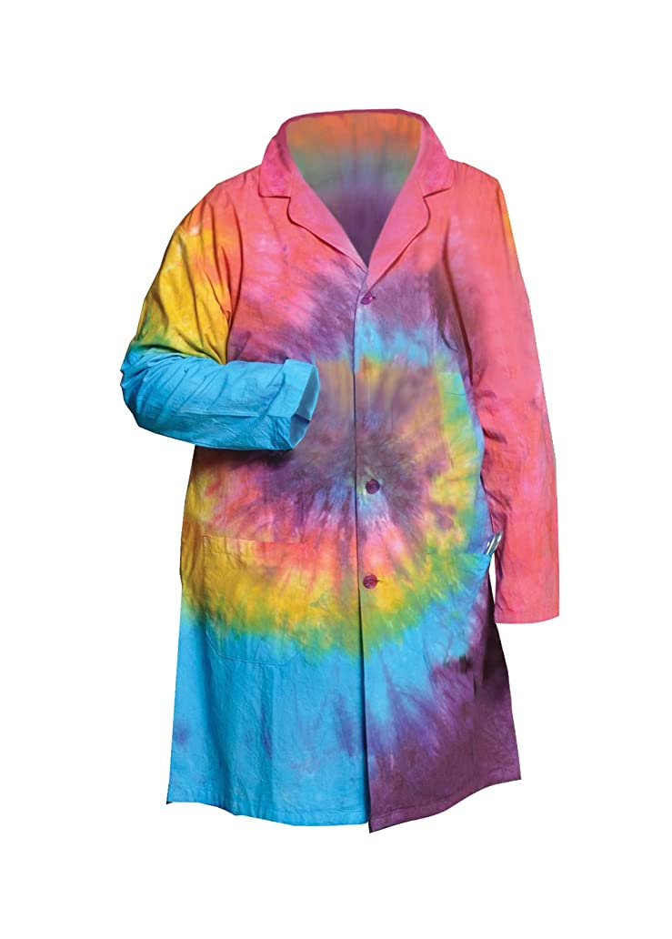 屋内一貫した時々United Scientific LBCTXL Tie Dye Lab Coats, Extra Large by United Scientific Supplies