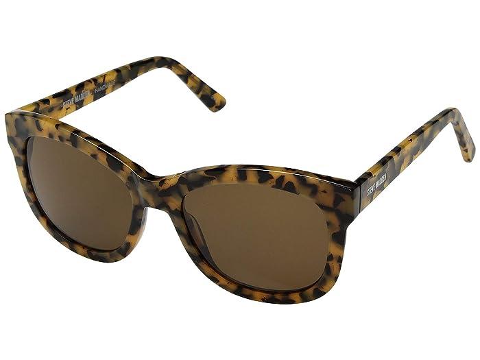 Steve Madden  Acetate Square (Milky Tortoise) Fashion Sunglasses