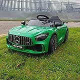 ATAA Mercedes GTR Mini 12v - Verde - Coche eléctrico para niños con batería 12v