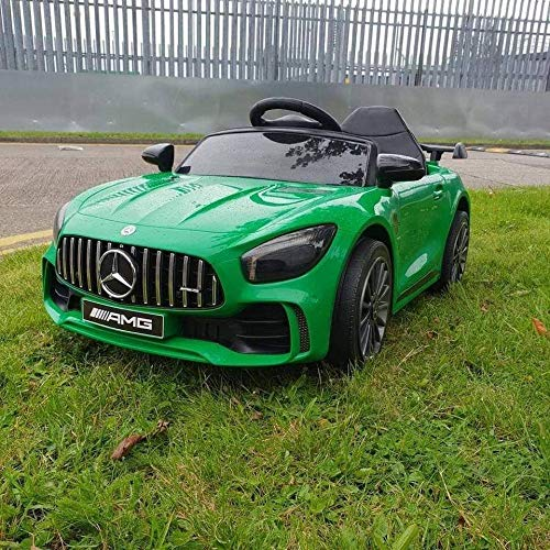 ATAA Mercedes GTR Mini 12v - Verde - Coche eléctrico para niños...