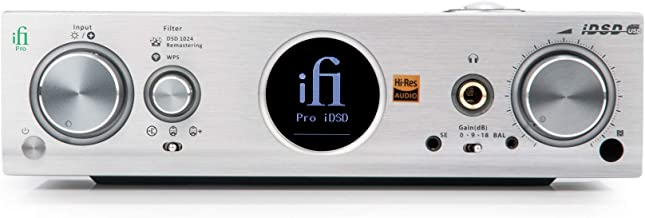 iFi Pro iDSD Desktop DAC/Tube/Solid State/Headphone Amplifier/Wireless Audio Streamer/USB/SPDIF/Optical Inputs for Home St...