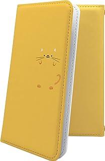 ケース isai V30+ LGV35 互換 手帳型 動物 動物柄 アニマル どうぶつ ねこ 猫 猫柄 にゃー イサイ プラス ロゴ ワンポイント ロゴ入り isaiv30 plus キャラクター キャラ キャラケース