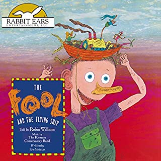 The Fool and the Flying Ship audiobook cover art
